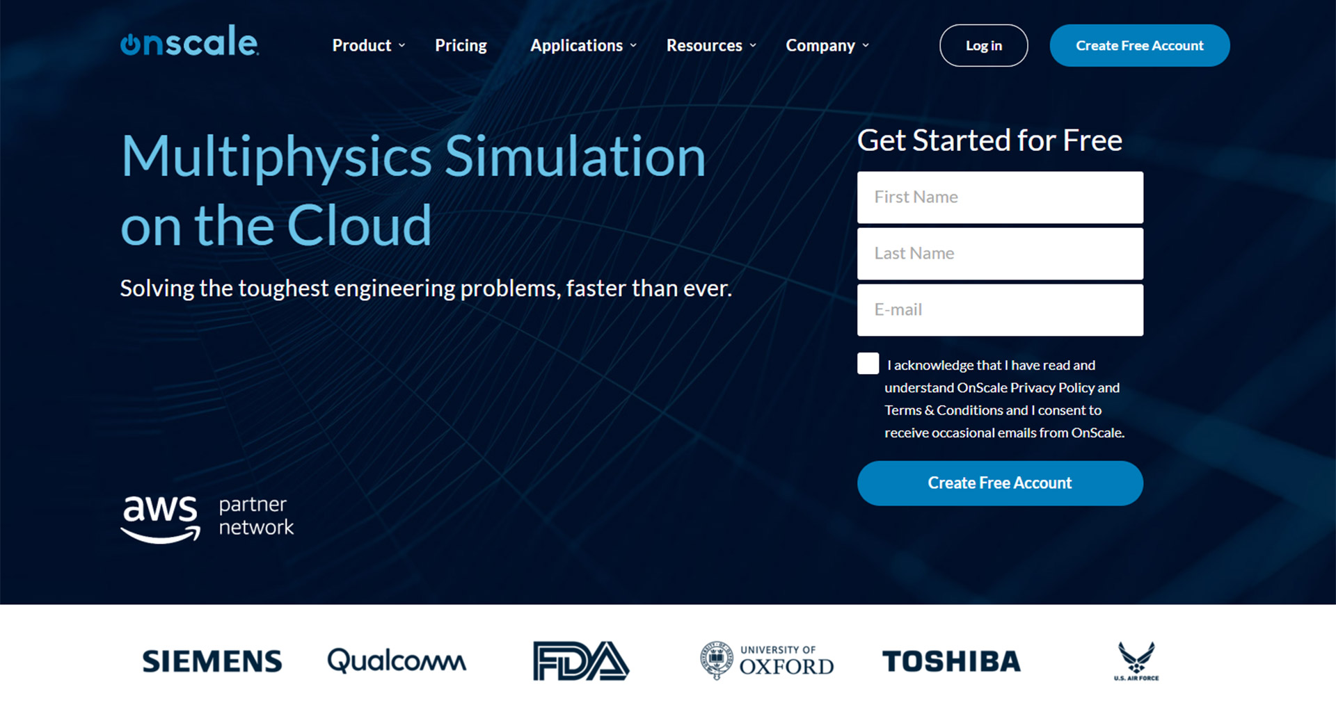 OnScale | Multiphysics FEA, CAE Simulation Software in the Cloud