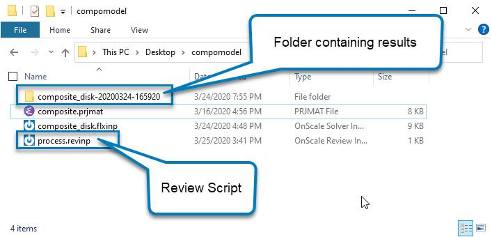 review script